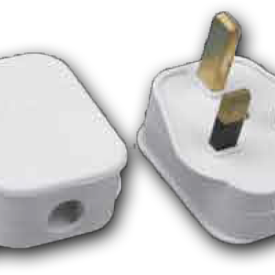 13Amp Rewireable Fused Plug with Neon 13A 250V MA-18 NEON