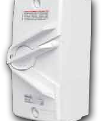 2 Pole 20A Switch Isolator 20A 240V WM-220