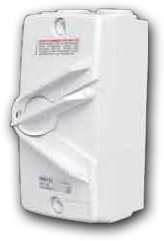 4 Pole 45A Switch Isolator 45A 415V WM-445