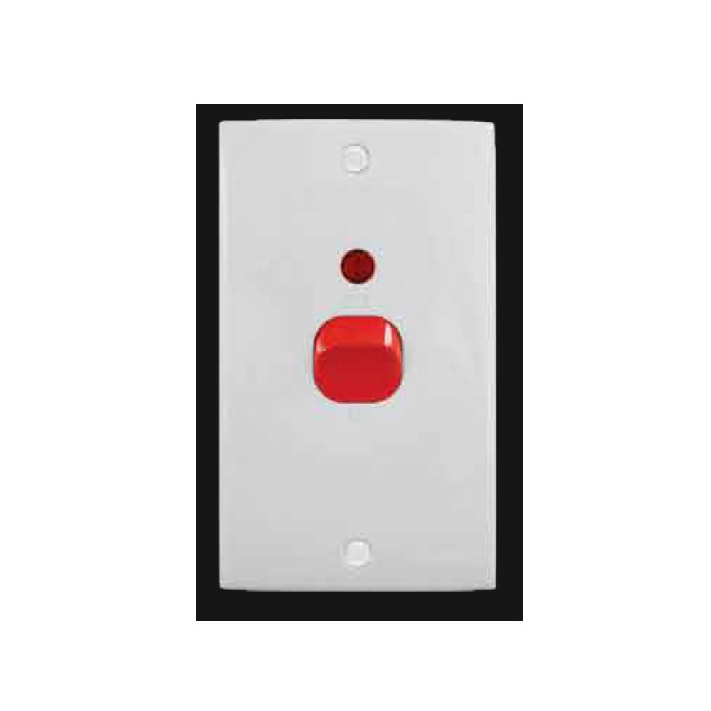 45A Double Pole Switch with Neon 2K-45L | MINDGM