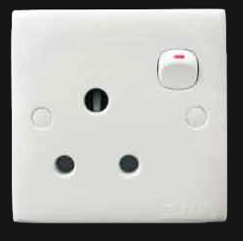 1 Gang Switched Socket Outlet 2K 151