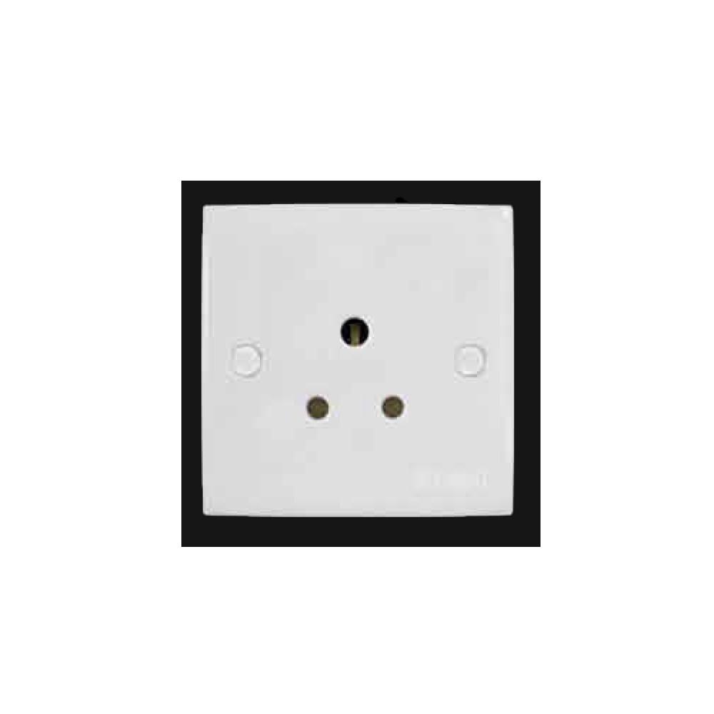 5A 1 Gang Socket Outlet