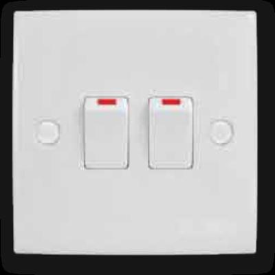 2 Gang 2 Way Switch MS-102L(2W)