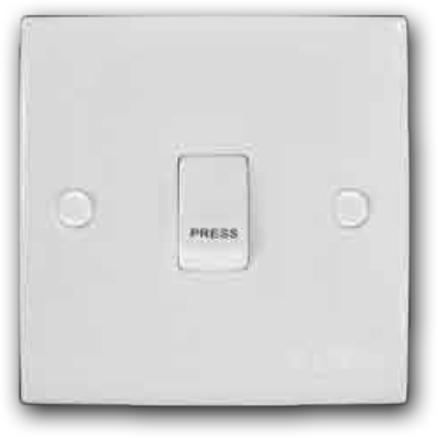 1 Gang Bell Switch MS-101L(BELL)