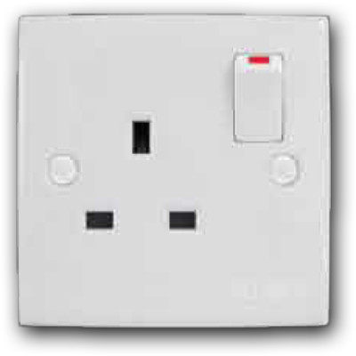 13A 1 Gang Switch Socket Outlet MS-131L