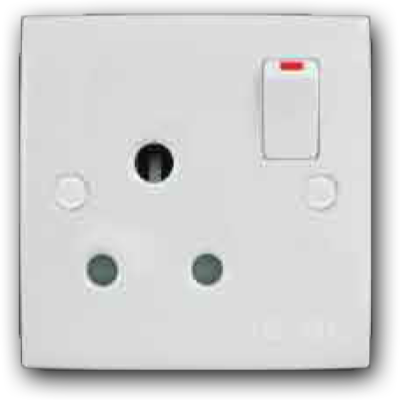 15A Switched Socket Outlet MS-151L